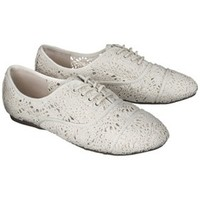 Women's Xhilaration® Karsyn Crochet Oxford - Assorted Colors