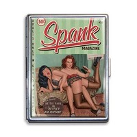 Bettie Page™ Vintage Magazine Spank Cigarette Case