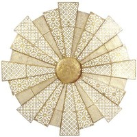 Gilded Round Wall Decor