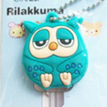 Cartoon Key Cap Cover/ Keychain / Charm Owl