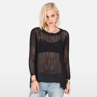 ALL MESHED UP SWEATER