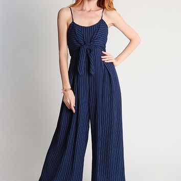 Jessie Striped Jumpsuit | Ruche