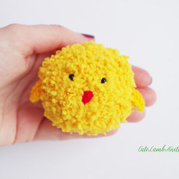 Crochet chicken amigurumi toy, cute Crochet bird, crochet plush bird, cute chicken, crochet plush toy, crochet animals, cute crochet plushie