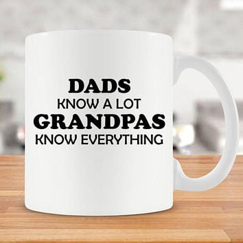 Funny Grandpa Mug For Grandfather Gifts For Grandpa Coffee Mug Grandpa Coffee Cup Fathers Day Present Papa Mug Tea Mug Ceramic Mug - SA279