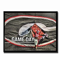 Georgia Bulldogs Game Day Poster | UGA Game Day Poster | Georgia Game Day Poster