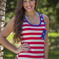 Star Spangled Sweetie Tank | Tops | Kiki LaRue