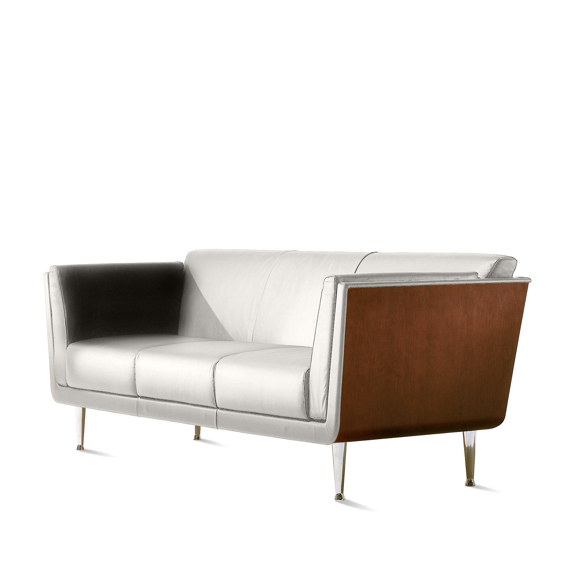 Goetz Sofa Leather By Herman Miller From Circle Art At Home