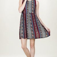 Jaqueline Fall Tribal Dress