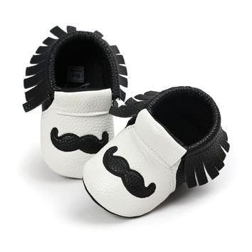 Toddler Baby Moccasins First Walkers Shoes