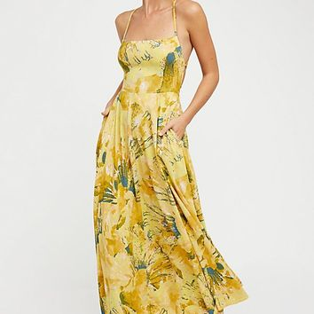 Nellie Printed Maxi Dress