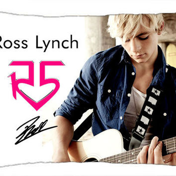 "Ross Lynch R5 Band Autograph Photo Standard Size Pillow Case Cover 30""x20"" B"