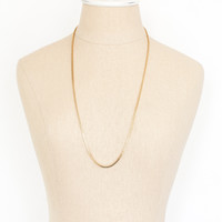 70's__Monet__Box Chain Layering Necklace