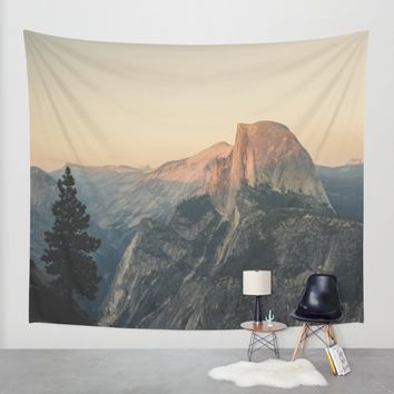 Half Dome Wall Tapestry by Hraun Photography