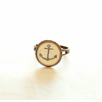 Anchor Ring by JujuTreasures - Chictopia
