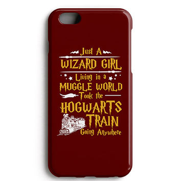 Just a Wizard Girl Phone Case
