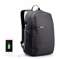 Waterproof Backpack, Travel Bag with USB Charger Anti Theft 15.6 inch