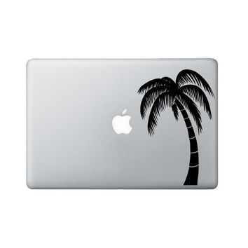 Palm Tree Laptop Sticker - Palm Tree Laptop Decal Graphic