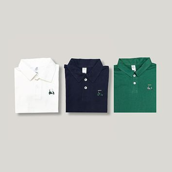 Golf Cart Polo Tee
