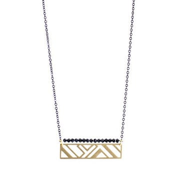 Oblong V Necklace