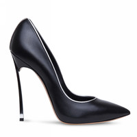 2016 Brand Women Pumps Sexy High Heels Stiletto Thin Heel Women's Shoes Pointed Toe High Heels Wedding Shoes Woman size 35-42