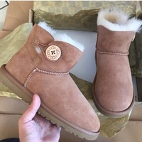 shosouvenir  UGG authentic mini Bailey button boots