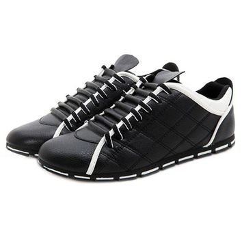 new men England casual fashion non slip breathable leather shoes size 8,9,10