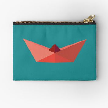 'Origami Hat ' Studio Pouch by Manitarka