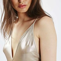 PETITE Strappy Metallic Body - New In This Week - New In
