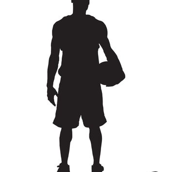 Vinyl Wall Decal Sticker Basketball Player Baller #338
