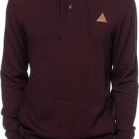 Dravus Tall Tale Henley Hooded Sweater