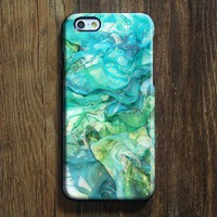 Abstract Blue iPhone 6s SE Case iPhone 6 plus Case iPhone 5 Case Galaxy Case 3D 141