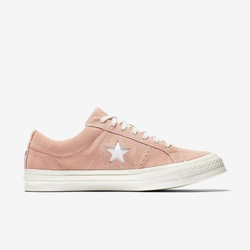 spbest CONVERSE ONE STAR X GOLF LE FLEUR SUEDE - PINK