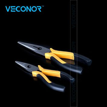 Veconor long nose wire cutting plier wire cutter combination stripping plier