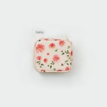 Mini Floral Cosmetic Pouch