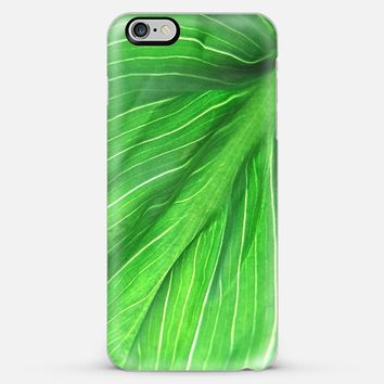 Leaf green II iPhone 6 Plus case by VanessaGF | Casetify