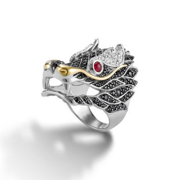 John Hardy naga collection dragon ring