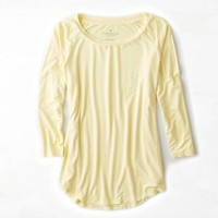 AEO BRIGHT BASEBALL T-SHIRT