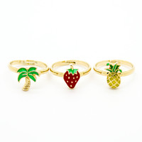 Cutie knuckle, midi rings