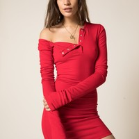Rori Dress Spicy Red