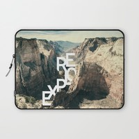 Explore Now Laptop Sleeve by Cafelab