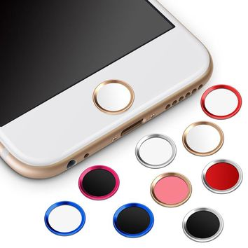1 pc For iPhone Home Button Sticker For iPhone 5s 6 6s Plus 6Plus 6s Plus Fingerprint Identification Unlock Key Stickers