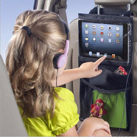 Car Seat Back Tablet Holder and Organizer by Baby in Motion