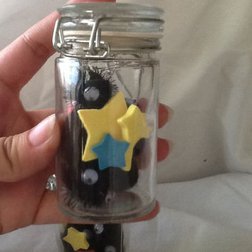 Spirited Away Soot Sprites and Star Chips in a Bottle