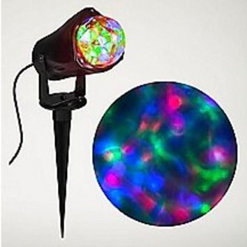Blue Fire and Ice LED Spot Light - Spencer's
