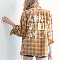 Where The Hell Vintage Flannel (Warm, Cool Colors) - Jac Vanek