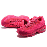 """NIKE"" Fashion Men Running Sport Casual Air max cushion Shoes Sneakers Rose G-CSXY"