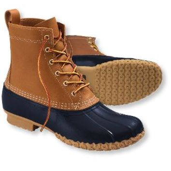 "Women's Bean Boots by L.L.Bean, 8"": Winter Boots 