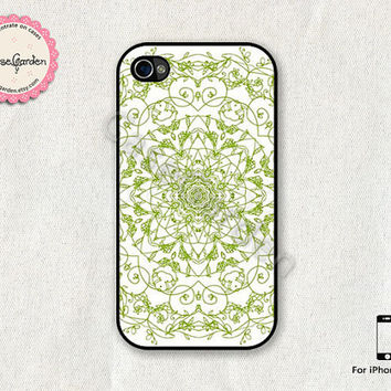 iPhone 4 Case, iPhone 4s Case, iPhone Case, iPhone Hard Case, iPhone 4 Cover, iPhone 4s Cover, Circle Pattern