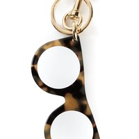 Stella Mccartney Glasses Pendant Keyring - Stefania Mode - Farfetch.com