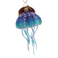 Christopher Radko Jellyfish Joy Glass Ornament